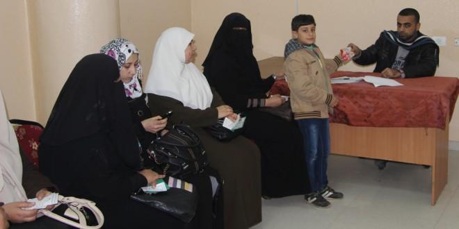 الجمعية الاسلامية توزع مساعدات على 2148 اسرة خلال فبراير ومارس