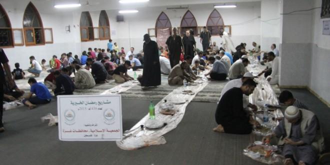 20000 أسرة مستفيدة من مشاريع الجمعية خلال رمضان