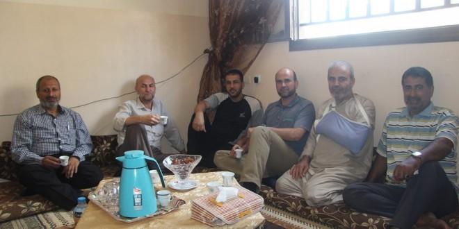 """الجمعية الاسلامية تقوم بزيارة يوسف مطر"""" أبو جهاد """""""