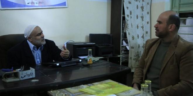 الجمعية الإسلامية تزور جمعية فلسطين الخيرية للإعمار والتنمية