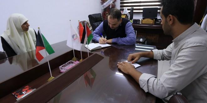 إدارة رياض الأطفال بالجمعية الإسلامية تزور جمعية غزي دستك