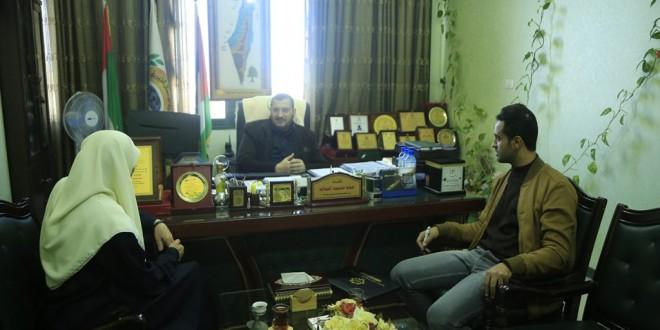 إدارة رياض الأطفال بالجمعية الإسلامية تزور هيئة الأعمال الخيرية
