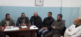 إدارة الجمعية الإسلامية تزور مركز طيبة الطبي