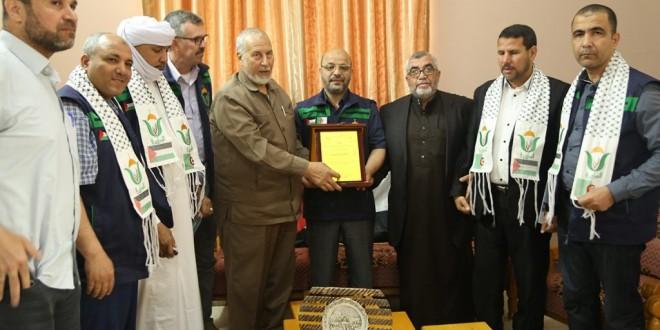 الجمعية الإسلامية تستقبل وفد جمعية البركة الجزائرية للعمل الخيري والإنساني