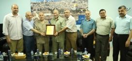 الجمعية الإسلامية في زيارة صحيفة فلسطين