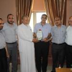 الجمعية الإسلامية تستقبل وفدا من وزارة العمل بغزة