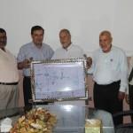الجمعية الإسلامية تستقبل وفدا من لجنة زكاة الشاطئ والنصر بغزة