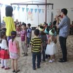 نظمت إدارة رياض الأطفال حفلاً ترفيهياً برياض الأطفال بمناسبة حلول عيد الأضحى المبارك