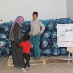 وزعت الجمعية الإسلامية بغزة مساعدات مالية على 634 أسرة