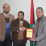 الجمعية الإسلامية تزور الهيئة الشعبية العالمية لدعم فلسطين