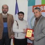 الجمعية الإسلامية تزور اللجنة الخيرية لمناصر فلسطين