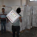النصف الأول من رمضان : 3821 أسرة مستفيدة من مشاريع الجمعية بغزة