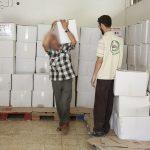 الجمعية الإسلامية توزع كفالات أيتام ومساعدات عينية على الأسر الفقيرة