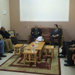 الجمعية الإسلامية بغزة تستقبل وفد من بنك الانتاج