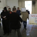 الجمعية الإسلامية توزع مساعدات على 200 أسرة.
